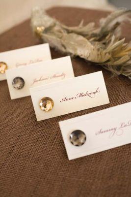 michaelscom wedding department romantic place card these place cards are simple yet elegant