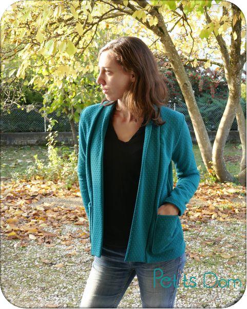 Gilet Cannelle Christelle Beneytout