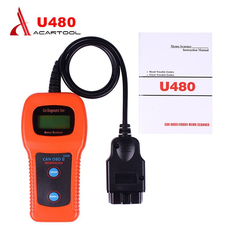 2016 U480 OBD2 CAN BUS/ Engine Code Reader memoscan U480 code reader U480 OBD2 OBDII Car or Truck AUTO Diagnostic Engine Scanner