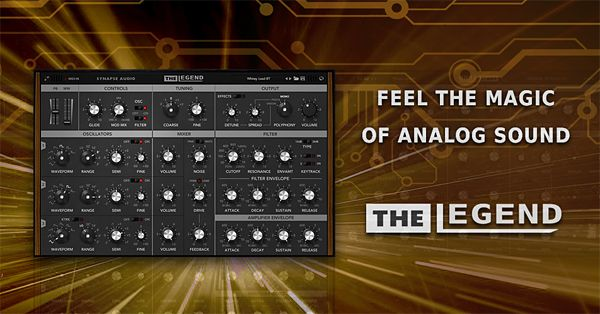New Territory In Analog Modeling Technology Recreates The Most Famous Vintage Synthesizer Of All Times