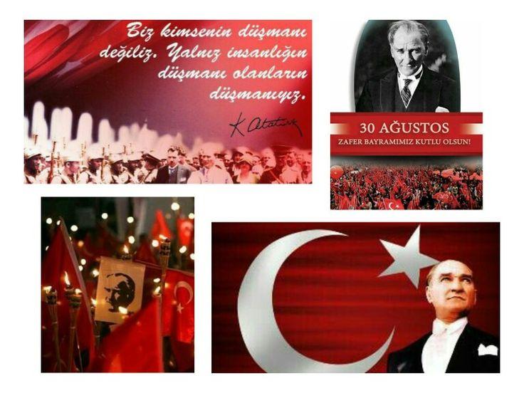 Atatürk Türkiye 30 Ağustos Zafer Bayramı