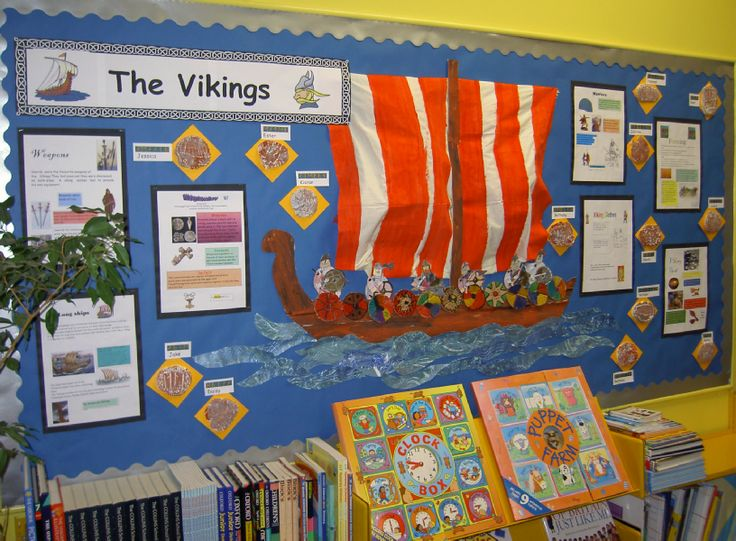 The Vikings Classroom Display Photo - SparkleBox