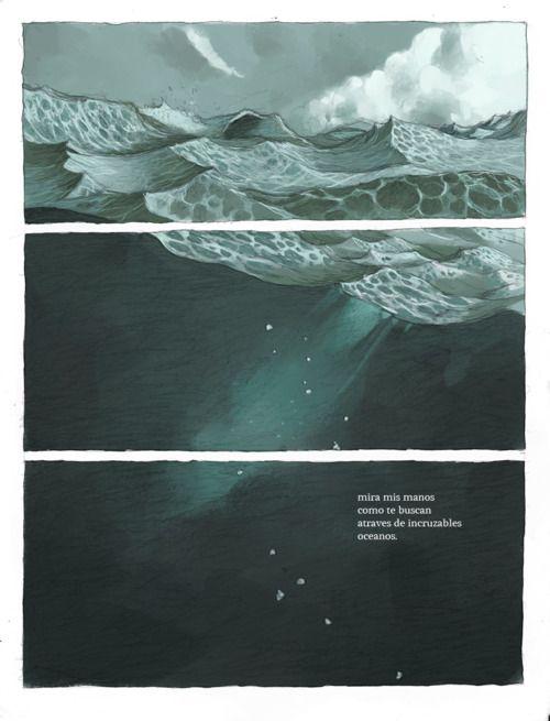 Tony Sandoval #ocean #illustration
