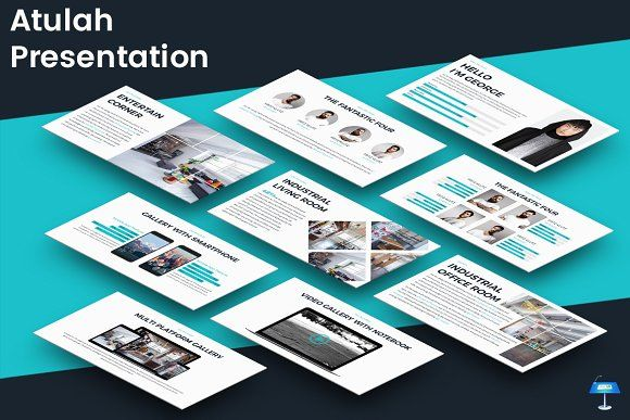 Atulah - Keynote Template by inspirasign on @creativemarket Best - keynote template
