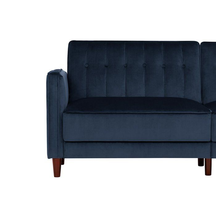 Hammondale Pin Tufted Convertible Sofa Apartment Sofa Small