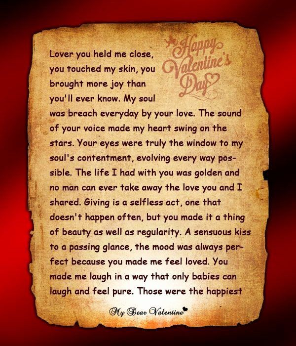 40 Love Letters To Him Romantic Love Letters