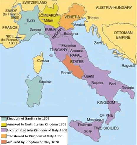 wwhistory italy map of 1914