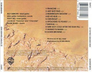 Rio Grande mud Album Back Cover