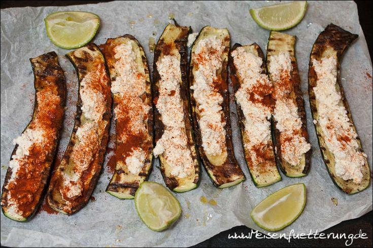 Gegrillte mexikanische Zucchini | Meisenfütterung BBQ