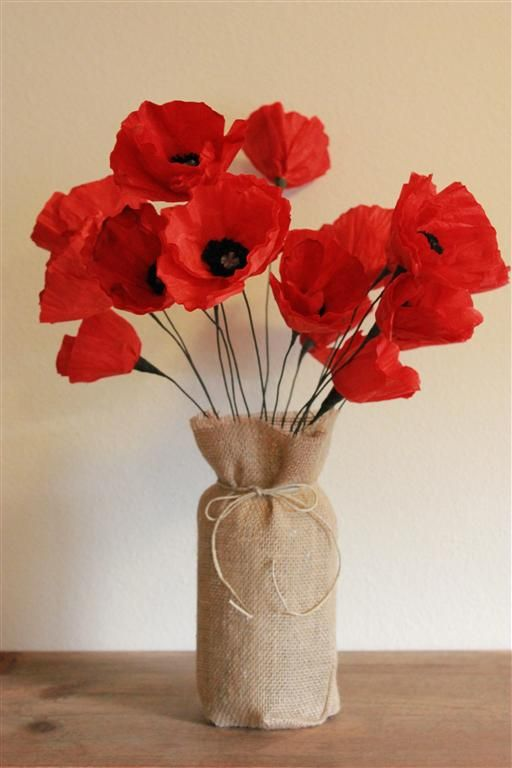 Blessed Blooms red poppies