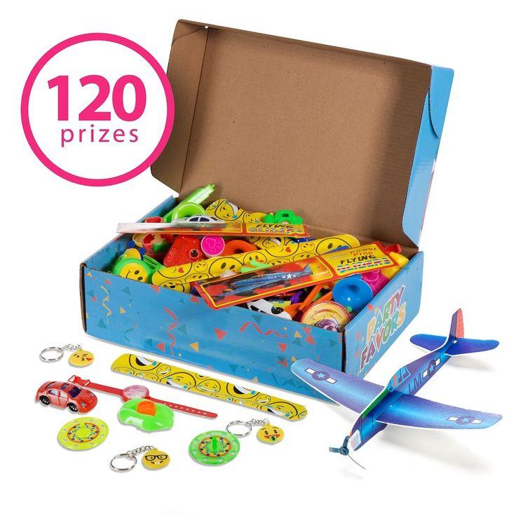 120 Loot Kids Party Prizes Birthday Toy Favors Mini Bright Colorful Gift Treats #RecaCreations #BirthdayChild