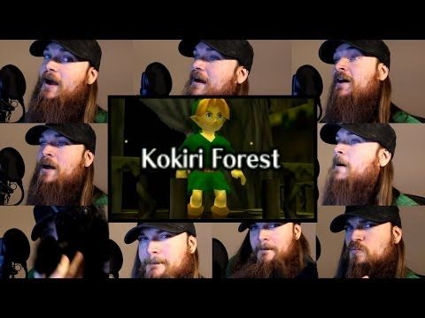 Zelda Ocarina of Time - Kokiri Forest Acapella - Smooth McGroove