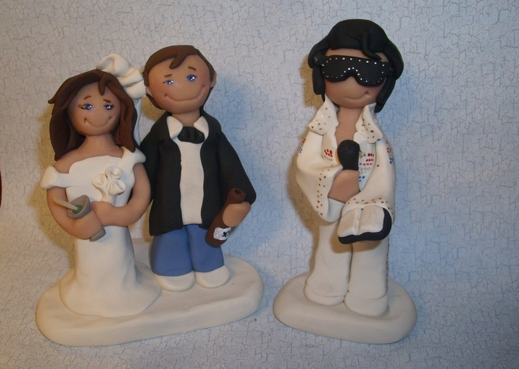 Las Vegas Cake Topper For Your Wedding