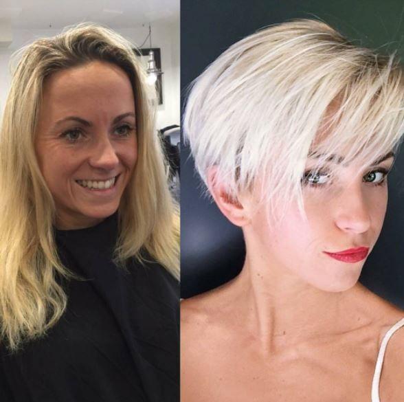 1700 best short  hair makeovers  images on Pinterest Hair