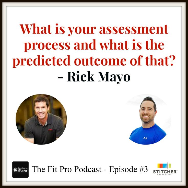 Great personal training sales technique from Rick Mayo.