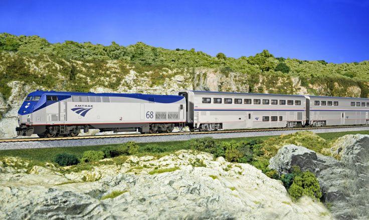 "HO-Scale GE P42 ""Genesis"" - KATO USA : Precision Railroad Models"