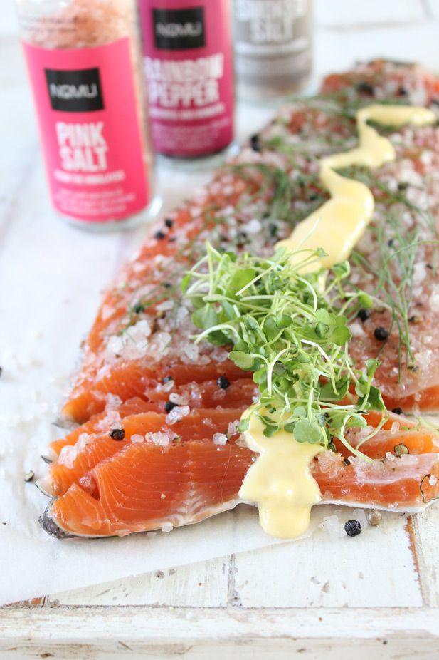 NoMU recipes: Smoked salt and peppercorn cured trout with hollandaise