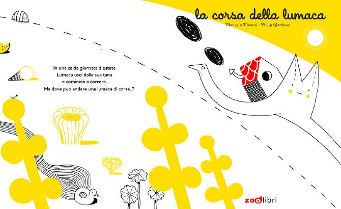 "Children' s book ""La corsa della lumaca"" 