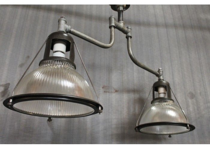 Holophane lowbay style with pipe fittings lighting for Plumbing light fixtures