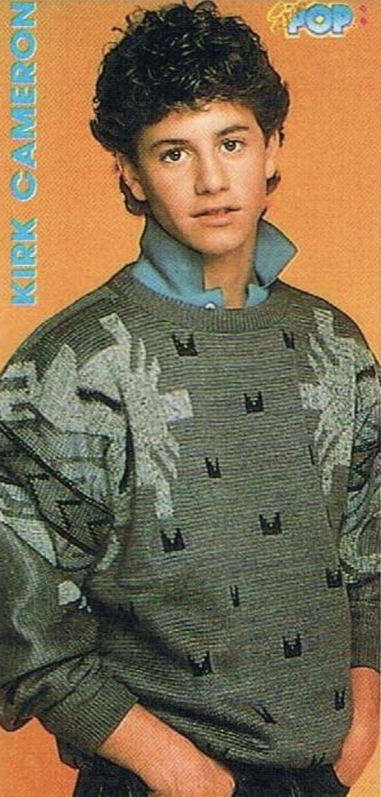 Kirk Cameron in 1986