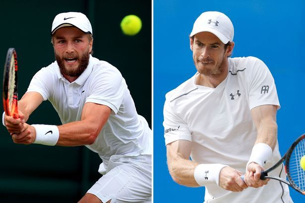 Andy Murray v Liam Broady Wimbledon 2016 LIVE: Updates as Stockport ace takes on British number one - Manchester Evening News