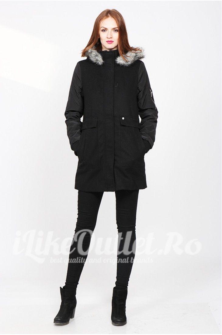 Black winter jacket  - VERO MODA