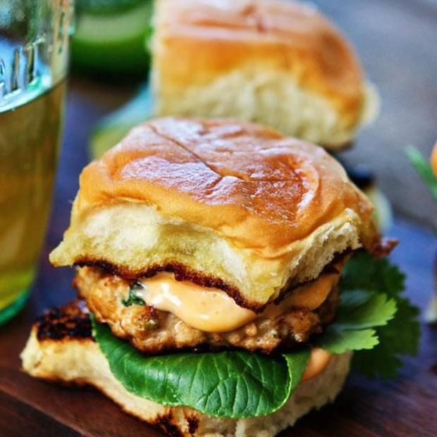 Grilled Thai Spice Chicken Sliders Recipe main-dish, dairy free, low carb, nut free, sugar free, fathers day, memorial day, dinner, american with 14 ingredients Recommended by 1 users.