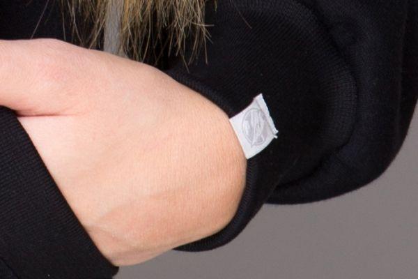 Devil Hoodie ZIP logo on arm