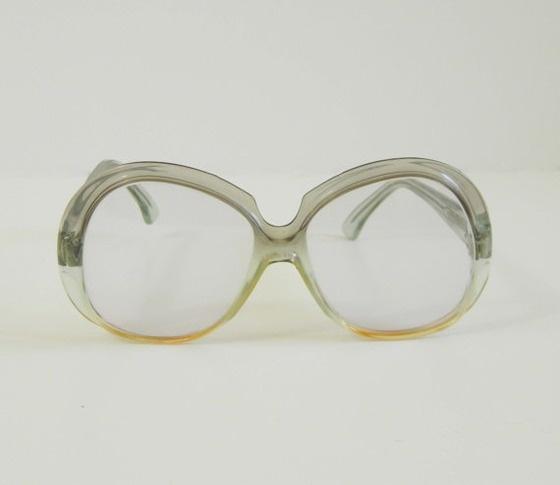 Oscar de la Renta vintage oversized eyeglass frames: Oscar De La Renta, Oversized Eyeglass, Vintage Oversized