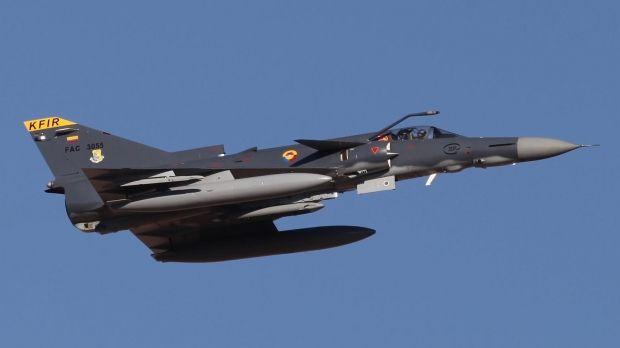 Columbian Air Force IAI Kfir Block60.