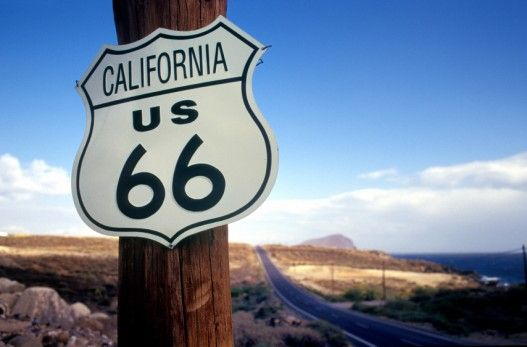 Route 66 road trip - information from end to end