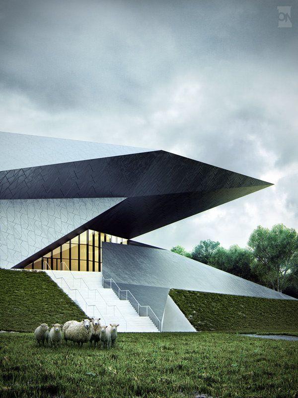 Festival Hall of the Tiroler Festspiele Erl | DMMA | Polynates