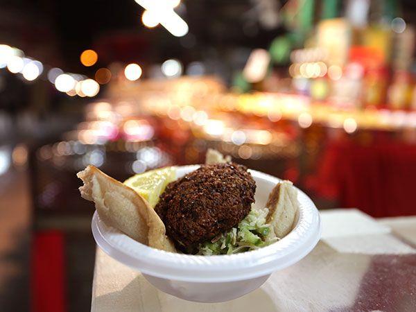 Tinas falafel på okokta kikärtor | Recept.nu