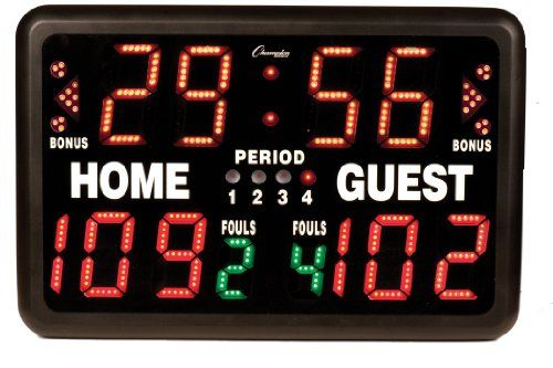 Champion Sports T90 Electronic Digital Scoreboard  //Price: $ & FREE Shipping //     #sports #sport #active #fit #football #soccer #basketball #ball #gametime   #fun #game #games #crowd #fans #play #playing #player #field #green #grass #score   #goal #action #kick #throw #pass #win #winning