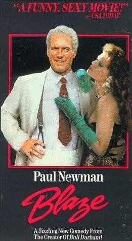 """""""BLAZE"""" (1989) PAUL NEWMAN, LOLITA DAVIDOVICH,JERRY HARDIN"""