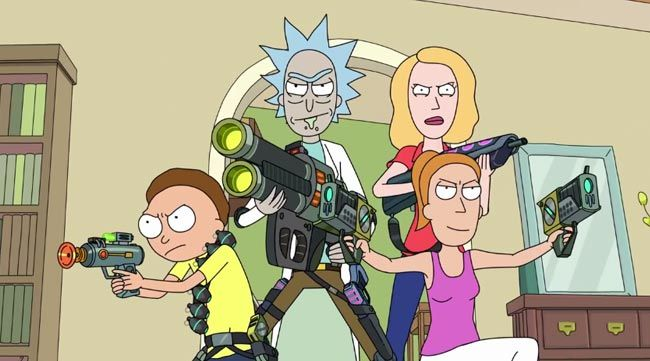 Rick and Morty season 2 will have even more sci-fi shenanigans as seen in the trailer, which is aptly set to Oingo Boingo's Weird Science. Morty's parents, Beth and Jerry, will start having their own adventures explained creator Dan Harmon in an interview with Nerd Repository. #funny #cartoon #tv http://l7world.com/2015/07/rick-and-morty-season-2-trailer-features-weird-science.html