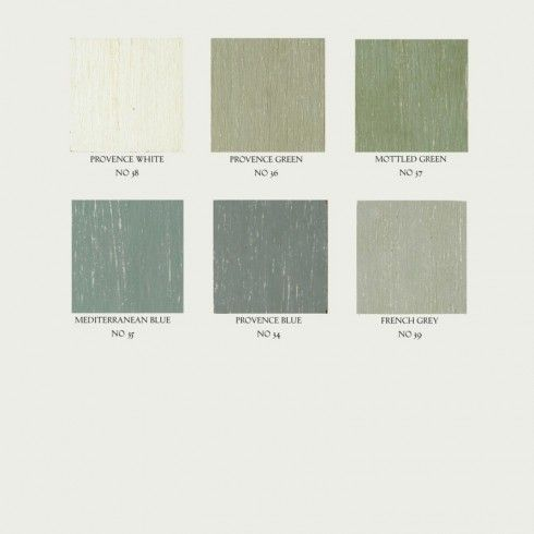 French Country Signature colours