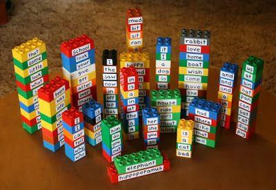 Filth Wizardry: DIY spinny spellers and repurposing Duplo bricks