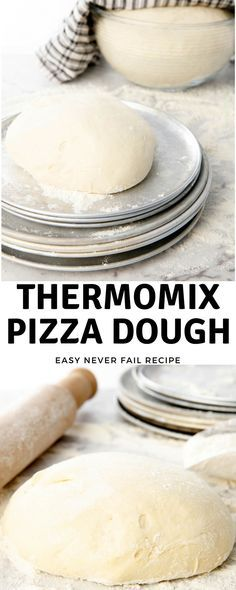 Making Thermomix Pizza Dough -A never fail pizza dough recipe. #Thermomix via @thermokitchen