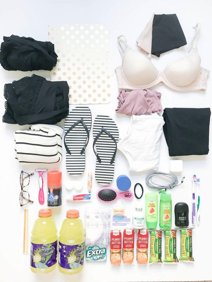 Packliste für Krankenhaustaschen | Was ist in einer Krankenhaustasche zu packen? Krankenhaustasche Check-Li …   – post partum
