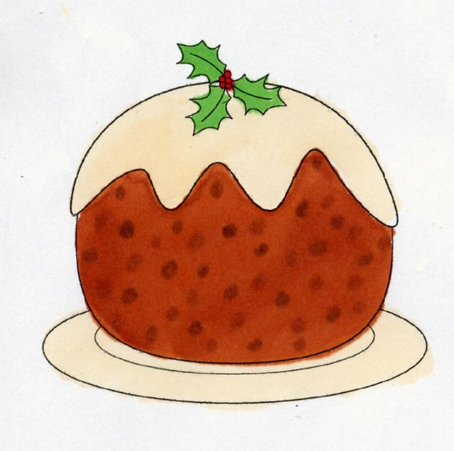 Make Christmas Cards and Invitations with this Christmas Pudding Freebie: Free Christmas Pudding Digital Stamp - click to find this freebie and more!!!