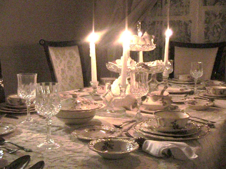 Victorian Dinner Party Part - 34: Victorian Table Setting - Candelabras. Pink HousesCandelabraDinner PartiesTable  ...