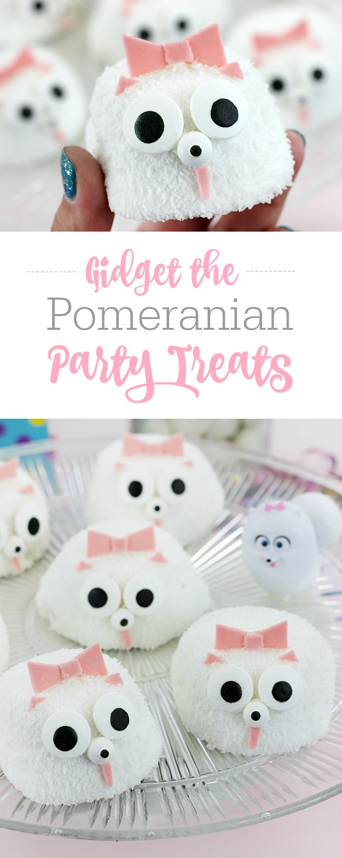 The Secret Life of Pets Party Ideas. Gidget The Pomeranian Party Snacks. Movie is on Blu-Ray/DVD at home (available starting on 12/6). #ad #TheSecretLifeOfPets #PetsPack