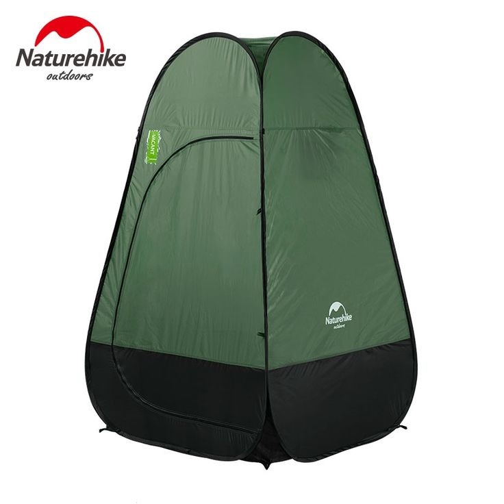 88.00$  Buy now - Naturehike Quick Automatic Opening Washing Toilet Tent Fishing Restroom Portable Outdoor Tent NH17Z002-P  #aliexpresschina