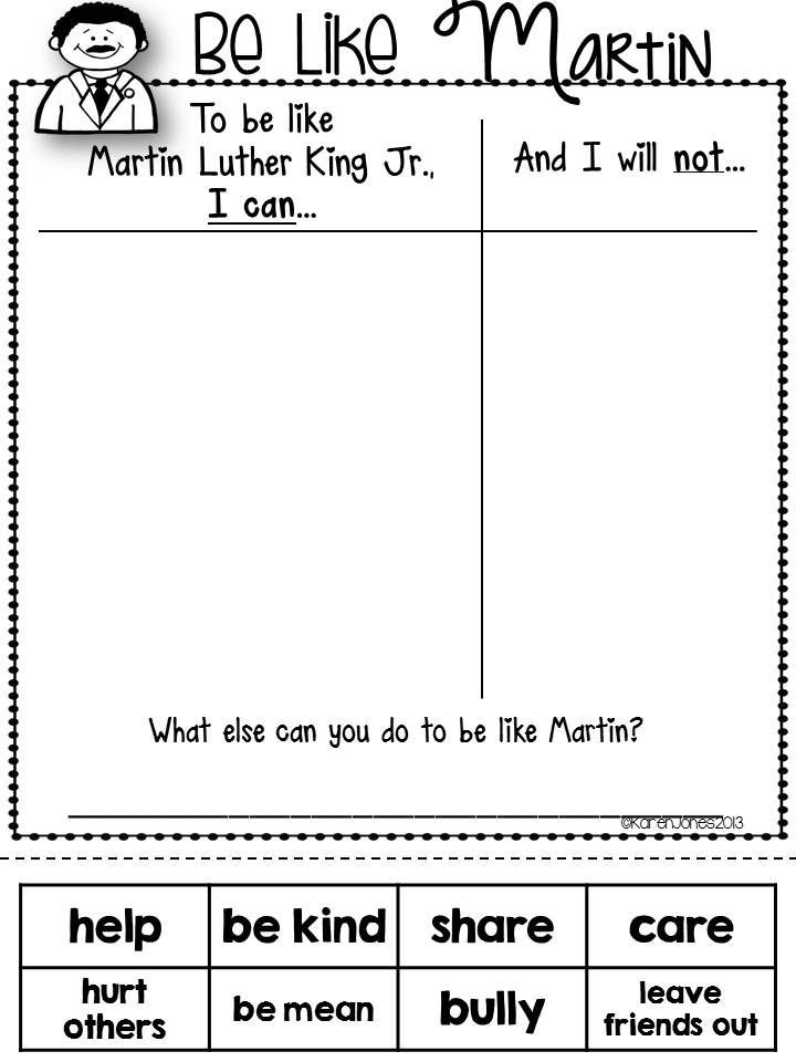 Dr. King for Little Learners-- Great unit to teach your kids about peace and acceptance. $