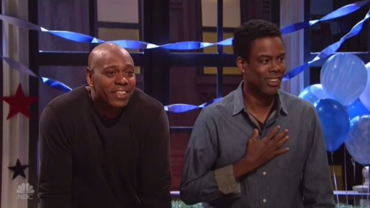 Chris Rock Stops by 'SNL' for Election Night Spoof