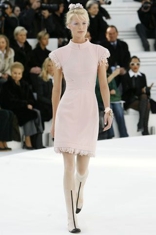 Chanel Spring 2006 Couture Fashion Show - Caroline Winberg