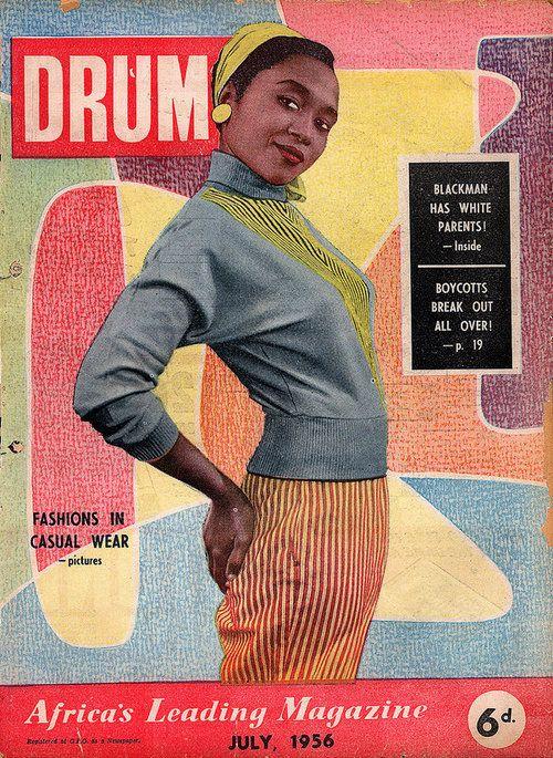 Drum Magazine , Africas leading magazine , July,1956
