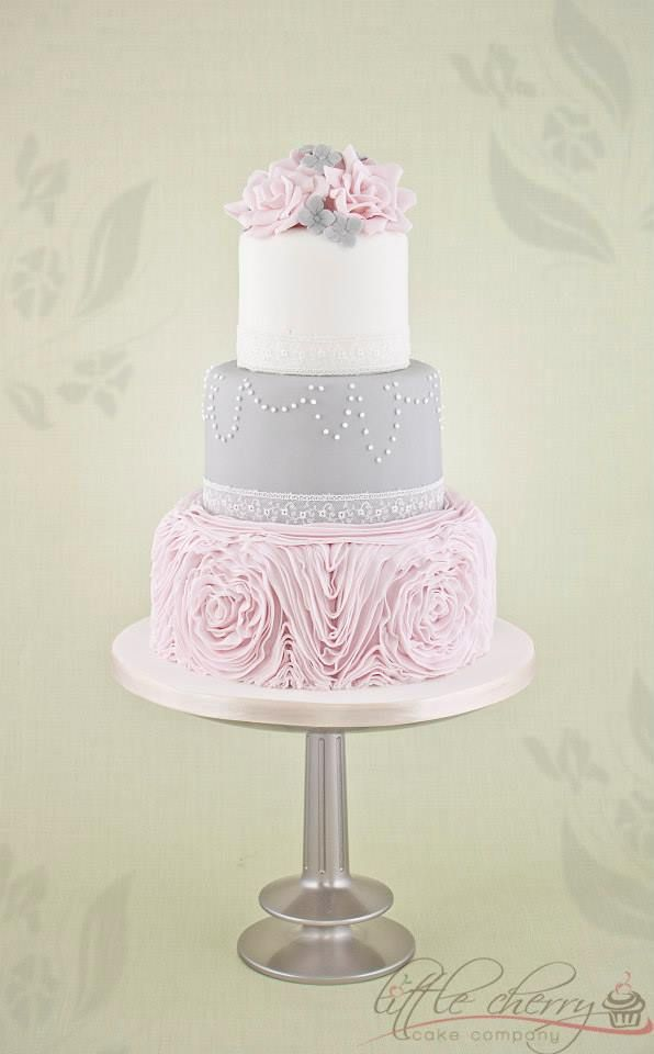 dusty pink and silver wedding cake best 25 pink grey wedding ideas on pink 13795