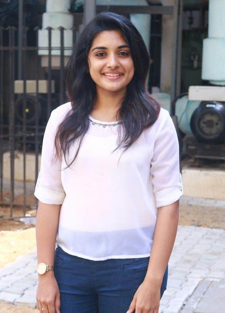 Actress Nivetha Thomas @ Ulaganayagan's #Thoongavanam Audio Launch